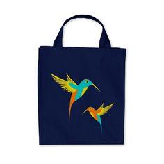 Exotic Hummingbirds tote bag.