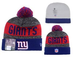 Men s   Women s New York Giants New Era 2016 Sideline Official Sport Knit  Pom… d4e1b2657a41