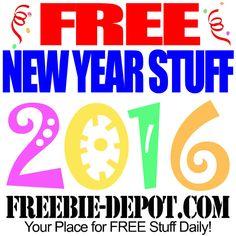 ►► FREE New Year Stuff 2016 - Freebies for the New Year – Free New Year's Eve Things – Happy 2016! ►► #2016, #Free, #Freebie, #HappyNewYear, #NewYearSEve ►► Freebie-Depot
