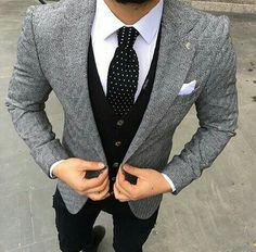 men suits casual -- CLICK Visit link for Mens Fashion Suits, Mens Suits, Fashion Menswear, Stylish Men, Men Casual, Casual Outfits, Herren Outfit, How To Look Handsome, Fashion Mode