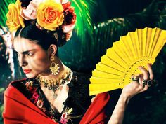 frida kahlo fashion   Frida Kahlo style   I you