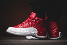 "Air Jordan 12 Retro ""Gym Red/White"" (Detailed Pics & Release Info) - EU Kicks: Sneaker Magazine"
