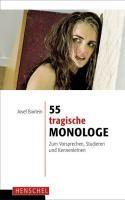 55 tragische Monologe   Bairlein   Buch (Cover)
