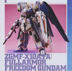 GUNDAM GUY: 1/144 Full Armor Freedom Gundam - Custom Build