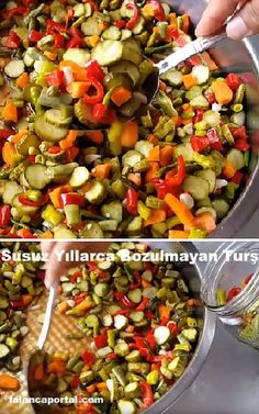 Susuz Yıllarca Bozulmayan Turşu – Top Of The World Fish Recipes, Vegetable Recipes, Best Shepherds Pie Recipe, Mac And Cheese Casserole, Baked Chicken Fajitas, Dairy Free Breakfasts, How To Roast Hazelnuts, Fast Food, Fast Easy Meals