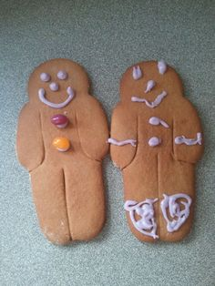 Delicious, gluten free gingerbread men who taste like they should!