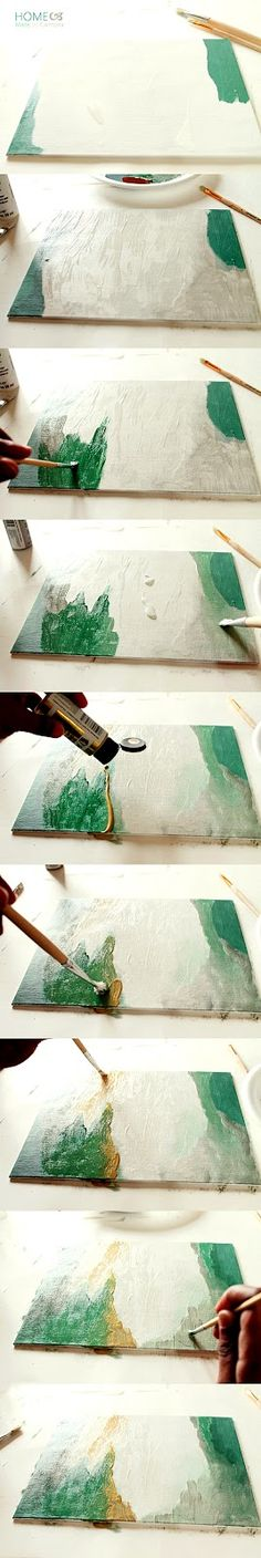 Home Made by Carmona: Step-by-Step Abstract Art