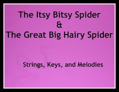 Do you hear what i hear?Finger Play Fun Day:  The Itsy Bitsy Spider and The Great Big Hairy Spider photo