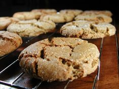 Soft, Spicy, Heavenly Ginger Cookies [vegan].  Only ginger cookies I've ever liked, and they are amazing!