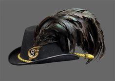 Austrian Jaeger hat 8th Pargue Regiment Austria, Austro Hungarian, Headdress, Military, War, Clothing, Vintage, Fashion, Hungary