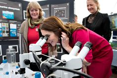 The Crown Princess was subsequently tour of Matematiktorvet where three activities in the DTU's marine research was showcased. Crown Princess got here the opportunity to see the plankton.