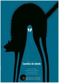 carteles del ilustrador Pablo Amargo