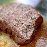 Rôti de boeuf, cuisson basse température au four »