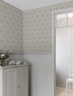 Astrid – – English Home Girl Bedroom Designs, Living Room Designs, Swedish Wallpaper, Scandinavian Wallpaper, Tile Bedroom, Interior Decorating, Interior Design, Scandinavian Living, Living Room Inspiration