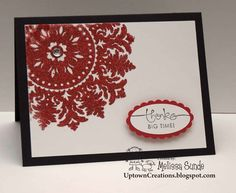 Uptown Creations- Stampin' Up! Independent Demonstrator: Good Bye Medallion