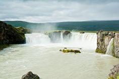 Wasserfall Goafoss in der Nähe von Reykjavik Island
