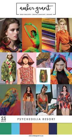 SS19 Trend: Psychedelic Resort www.ambergrant.co.za #SS19 #SS2019 #Trend #MicroTrend #TrendAlert #EmergingTrend #TrendForecaster #Trendy #Trending #Fashion #LadiesFashion #StreetStyle #TrendSetter #Style #BeachFashion #Psychedelic #Psychedelia #Resort #Botanical #Tropicana #TropicalFashion #AmberGrant #FashionBlogger #Editorial #FashionBlog #WGSN #Runway #Catwalk