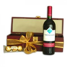 Red Wine Indulgence Gift Box to Saint-Kitts-and-Nevis Fiji Islands, Cook Islands, Hibiscus Flowers, Blue Flowers, Flower Centerpieces, Flower Arrangements, Florist Online, Buy Flowers Online, Gifts Delivered