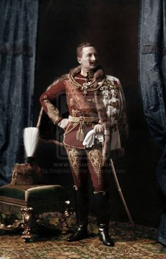 Wilhelm II, King of Prussia and German Emperor, wearing the uniform of a Field Marshal of Austria-Hungary, 1902