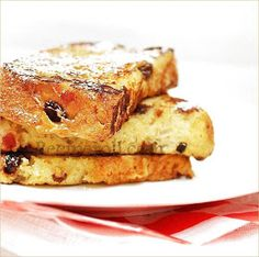 Sankeerthanam: Panettone French Toast | French Toast With Homemade Fruit Bread