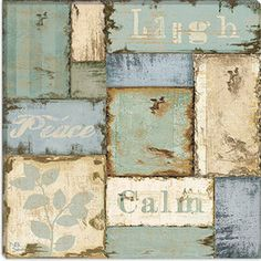 www.walmart.com iCanvasArt Inspirational Patchwork III from NBL Studio Collection Canvas Wall Art