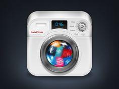 Washing Machine App Icon