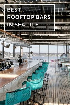 Best rooftop bars in Seattle. We have rounded up the top 6 rooftop restaurants & bars in Seattle to sip on a cocktail and take in the pacific northwest views. Seattle Travel Guide, Seattle Vacation, Seattle Sightseeing, Cruise Vacation, Disney Cruise, Road Trip Usa, Oh The Places You'll Go, Places To Travel, Travel Destinations