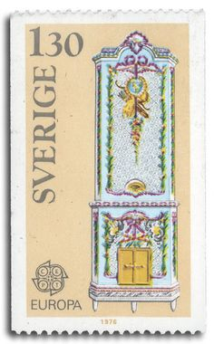 Swedish tile stove