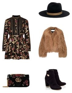 """""""Untitled #118"""" by melinas-poly ❤ liked on Polyvore featuring Dodo Bar Or, Marni, Janessa Leone, Gucci and Lipsy"""