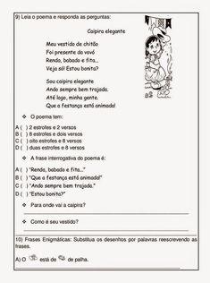 ATIVIDADES AVALIATIVAS INTERDISCIPLINARES ENSINO FUNDAMENTAL EXERCÍCIOS I      Português - Matemática - História - Geografia - Ciências da ...