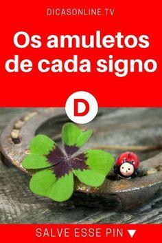 Amuletos por signo | Os amuletos de cada signo | Você já tem o seu amuleto?