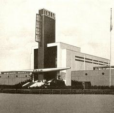Dieselpunk: Italian Pavilion at the Century of Progress Exhibition, Chicago 1934