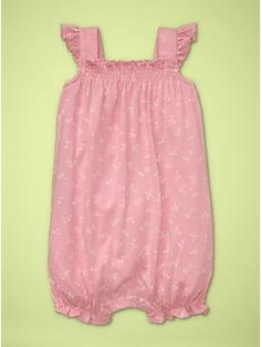 How adorable would this little romper be for our baby in the summer?!