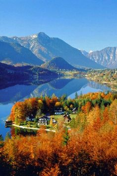 Fall day in Austria.....