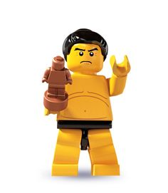 """Sumo Wrestler -- """"I am sorry, but I must defeat you now."""" 