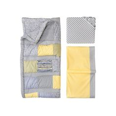 Trend Lab 3pc Crib Bedding Set – Hello Sunshine : Target ❤ liked on Polyvore featuring home, children's room, children's bedding and baby bedding
