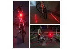 LED Laser Tail Bike Light