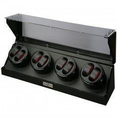 Boxy Fancy Uhrenbeweger Set ALL BLACK DUO