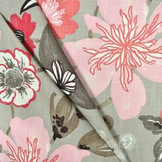 Braemore Gorgeous Blossom Fabric. fabric fabric, surface design, surface pattern, floral