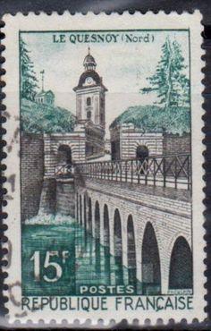 France Bridge Stamp.