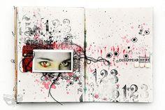inner pain - journal by finnabair, via Flickr
