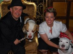 Shorty Rossi and Hercules with Dolly