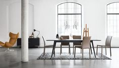The team at BoConcept Wandsworth love the affordable Zarra dining chair - there is only a 3-4 week lead time for these desirable dining additions and there is a range of different coloured leathers to choose from