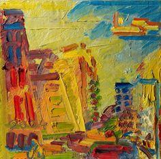 Frank Auerbach (British, b. 1931), Mornington Crescent, Summer...