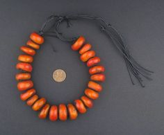 Prized for their unequaled beauty and striking color, Moroccan Amber Resin Beads have been prized for centuries among the Berber tribes of the