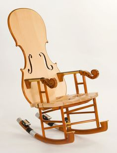 Fiddle Rocker Chair