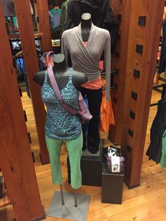 Womens yoga mannequins