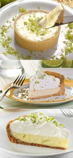 Lemon Pie, Always Succeed - Doces - Sweet Recipes, Cake Recipes, Dessert Recipes, Creative Desserts, Biscuit Cake, Love Food, Bakery, Food Porn, Food And Drink