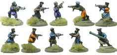 Taliban Insurgents - Flashpoint-Miniatures - War Games & Miniatures Manufacturer
