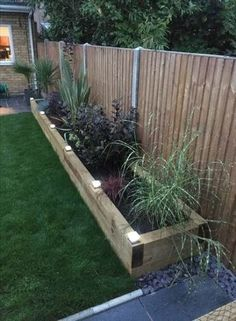 Super garden ideas diy landscaping thoughts Ideas diy garden landscaping housegardenlandscape is part of Garden landscaping diy - Back Garden Design, Backyard Garden Design, Backyard Patio, Backyard Planters, Small Backyard Design, Diy Patio, Raised Garden Planters, Patio Fence, Fence Planters